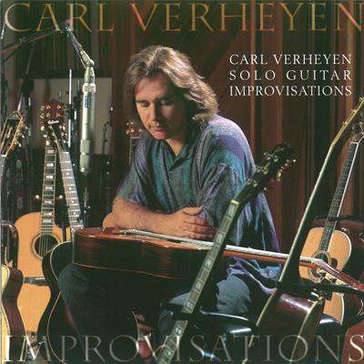 Carl Verheyen Solo Guitar Improvisations 2001
