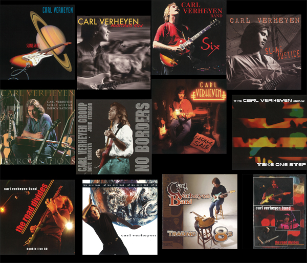 Carl Verheyen THE BRICK all albums in one package